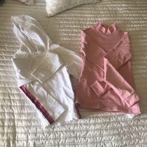 Bundle of 2 Nike sweat shirt/turtle small☃️